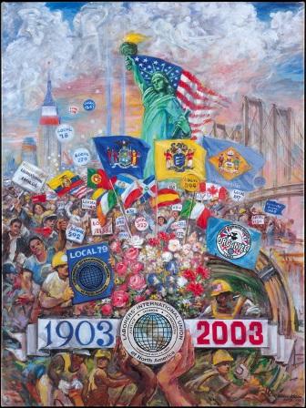 Centennial Comeorative Painting
